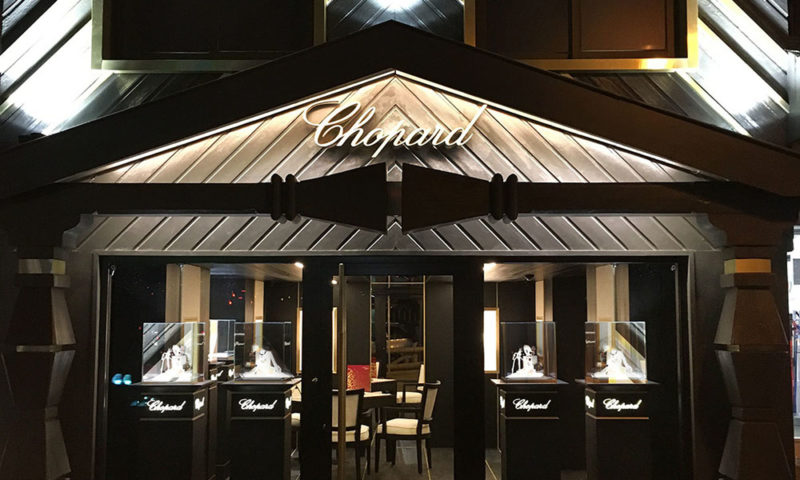 Chopard – Boutique in Courchevel 1850